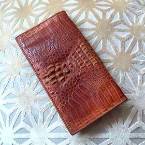Crocodile Skin / Leather wallet